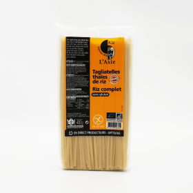 Thai brown rice tagliatelle
