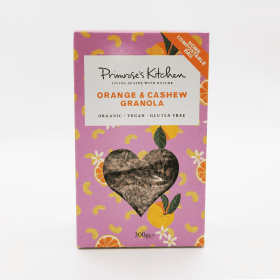 Granola orange and cashew