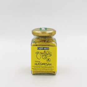 Nussmesan - vegan cheese lemon
