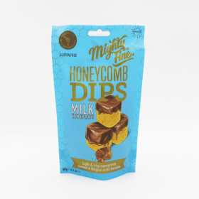 Honeycomb dips milk chocolate