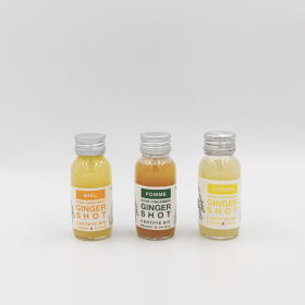 Pack of 3 ginger shots