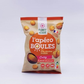Chickpea and curry snack...