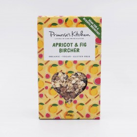 Apricot and fig bircher